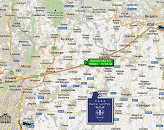 Our Park Hotel, near Bergamo, is halfway between Milan and Brescia.